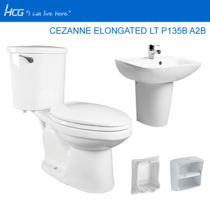 HCG PACKAGE CEZANNE ELONGATED LT P135B A2B