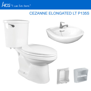 HCG PACKAGE CEZANNE ELONGATED LT P135S