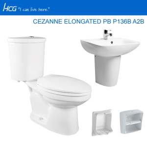 HCG PACKAGE CEZANNE ELONGATED PB P136B A2B