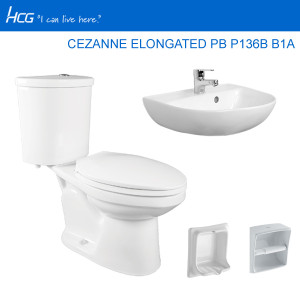 HCG PACKAGE CEZANNE ELONGATED PB P136B B1A