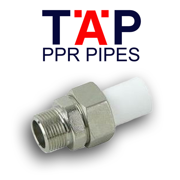 tap ppr male threaded union