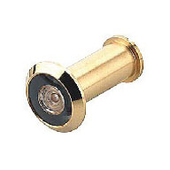 Hafele Door Viewer Polished Brass