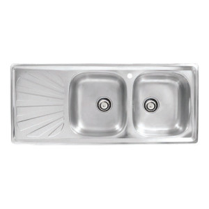 Hafele Double Bowl, Single Drain Single Hole