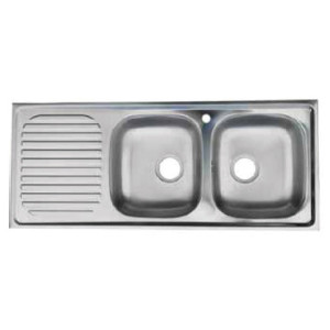 Hafele Double Bowl, Single Drain Single Hole R200