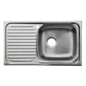 Hafele Single Bowl, Single Drain Single Hole R110