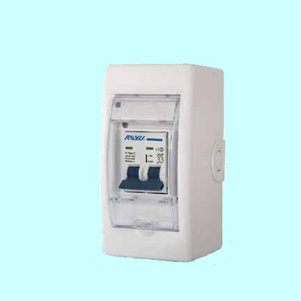 Royu Mini Safety Breaker With Cover Amp Outlet Din Rail