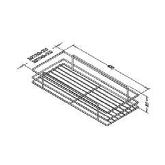 Hafele Side Mounted Pull-out Basket 2
