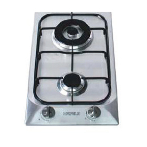 Hafele Stainless Steel Hob with 2 Gas Burner