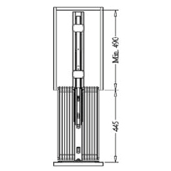 Hafele Tall Unit Pull-out 2