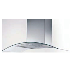 Hafele Wall Mounted Stainless Steel with Glass