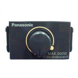 Panasonic Dimmer Switch Black 500W