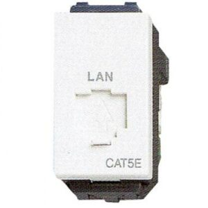 Panasonic Modular Jack Cat5e Outlet