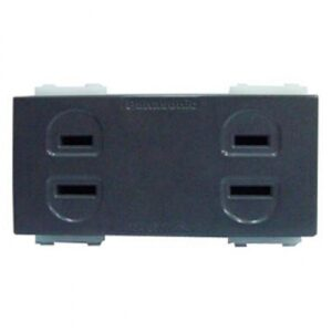 Panasonic Receptacle Duplex Grey