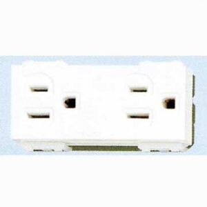 Panasonic Receptacle Flat Pin Duplex w Ground