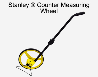 Stanley ® Counter Measuring Wheel