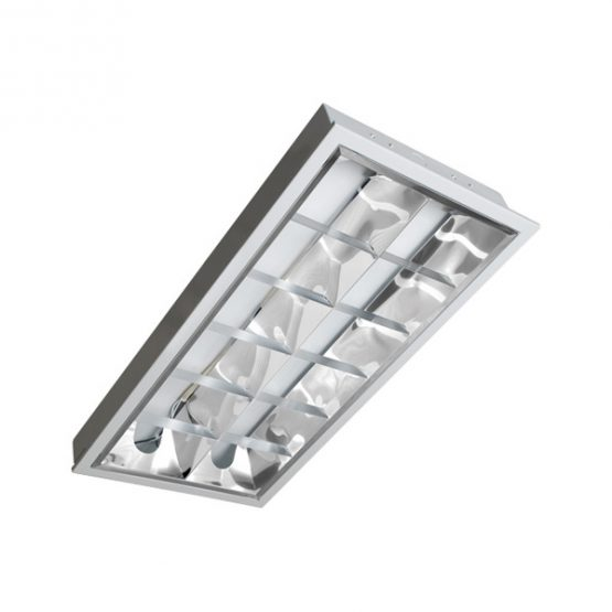 Wide Recessed Type with Aluminum Reflector